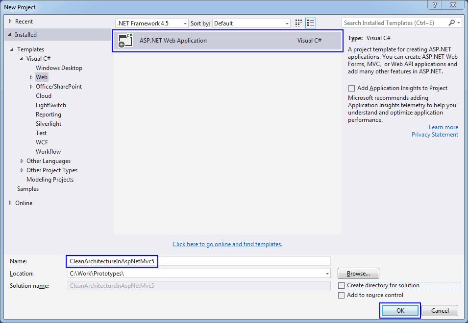 Clean Architecture in ASP NET MVC 5 - Matthewrenze